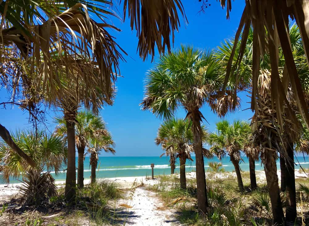 photo of Caladesi Island one of the best beaches in Florida
