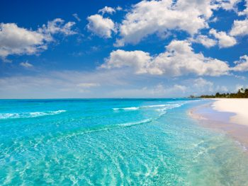 crystal clear waters at one of the best beaches in Florida