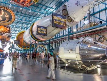 kennedy space center is one of the best day trips from orlando