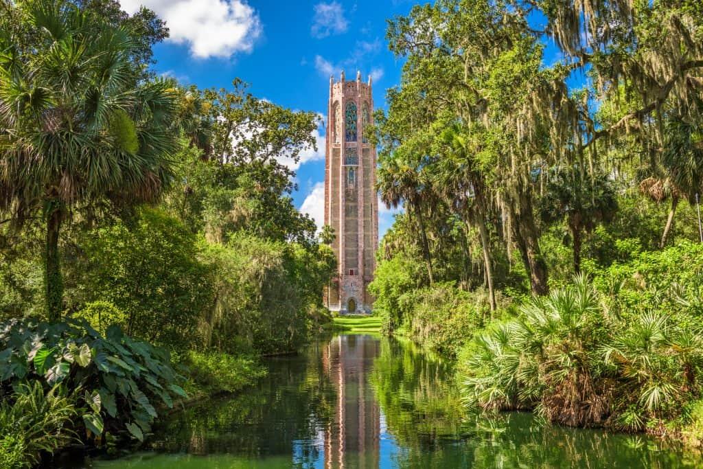 Hidden gems florida Bok towers singing tower.