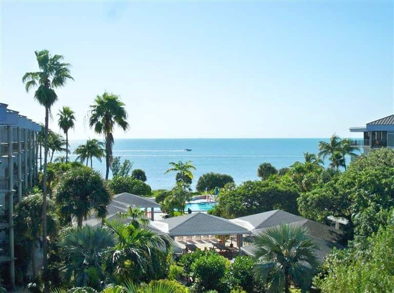 Pentouse airbnb in key west with ocean views.