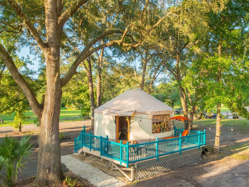 the Yurt at Danville Airbnb in Florida