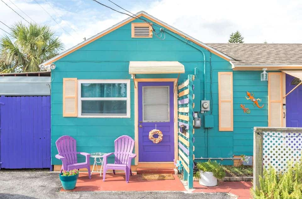 This quirky and colorful studio is in tune with its location in gulfport!
