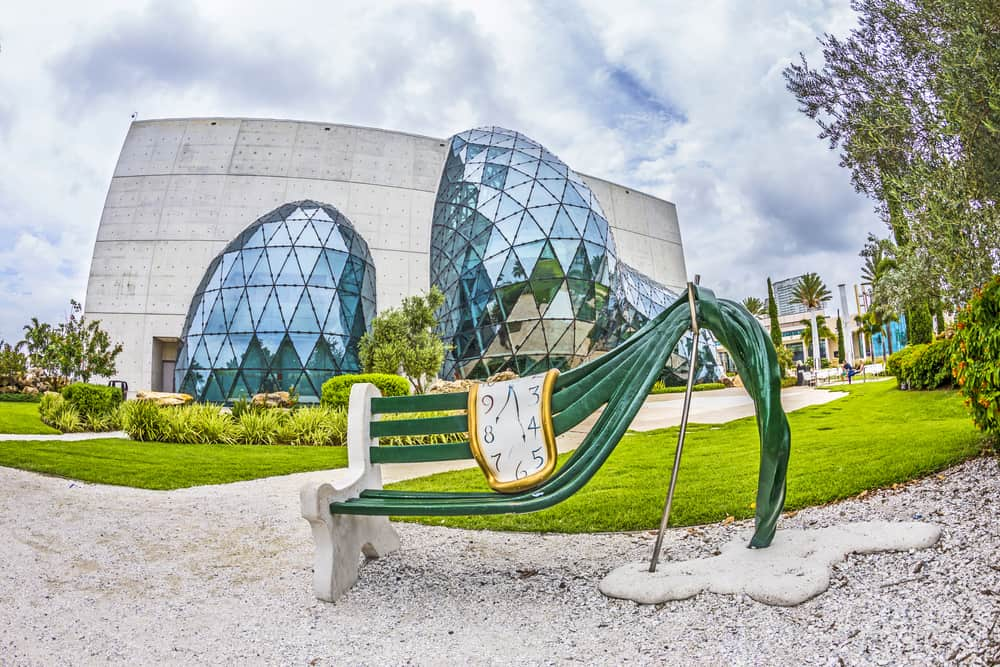 The Dali Museum in Florida features the largest collection of Dali's works outside of Europe.