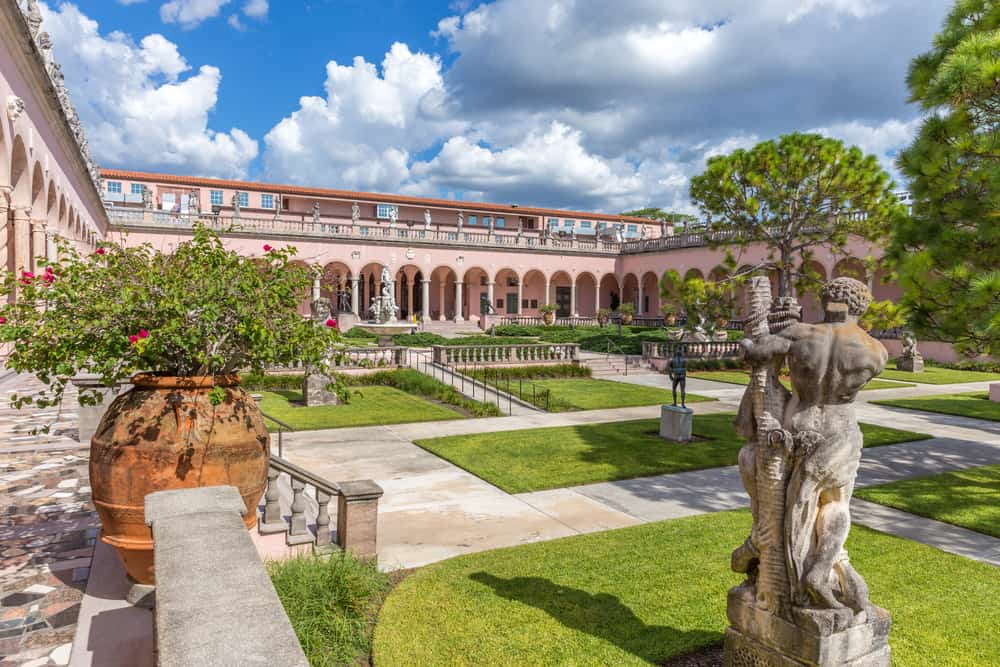 the Ringling Museum in Florida has so many exhibits: from art, to gardens, to an interactive circus exhibit!