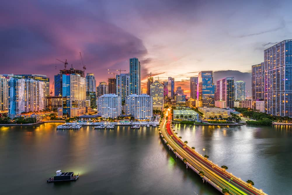 Downtown Miami is a hot culture spot!