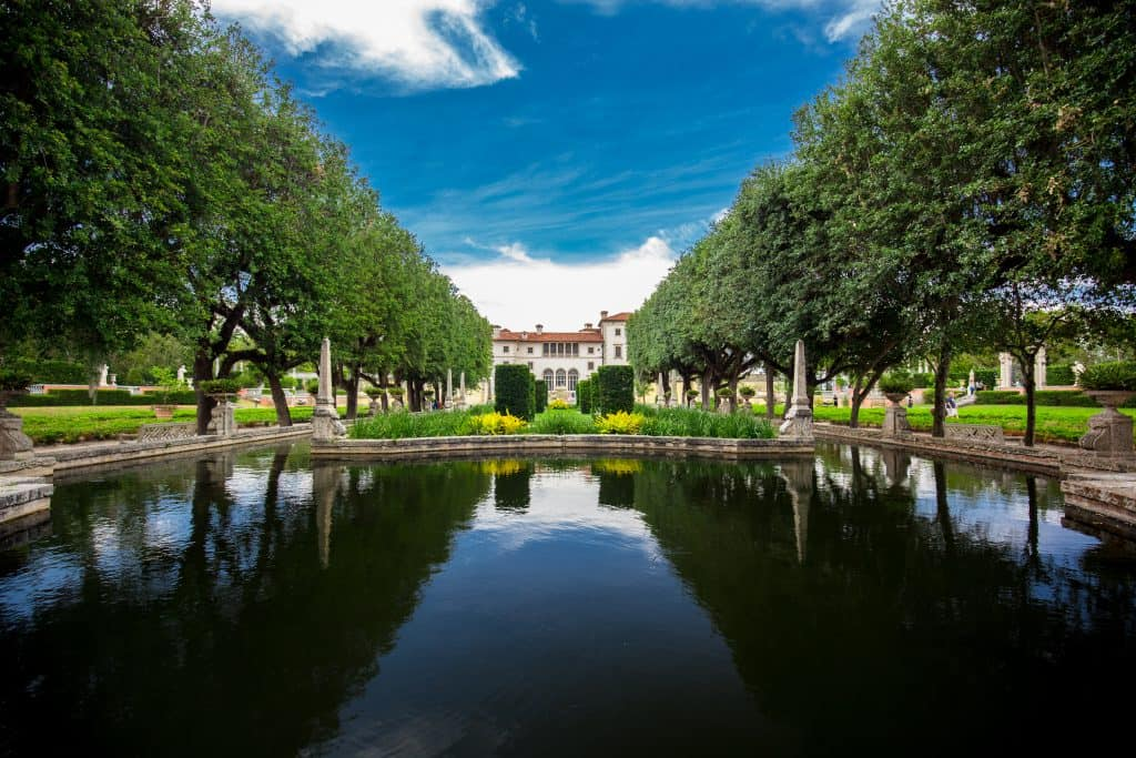 Vizcaya Manison and Gardens are a great estate to tour!