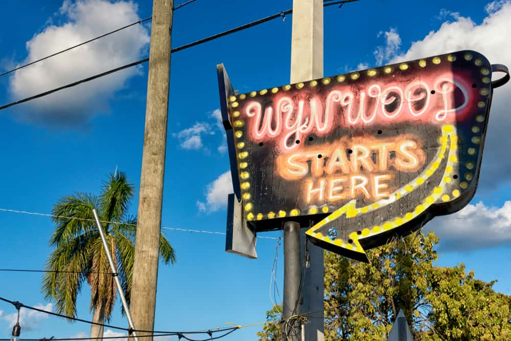Wynwood is the art district of Miami and features lots of fun art!