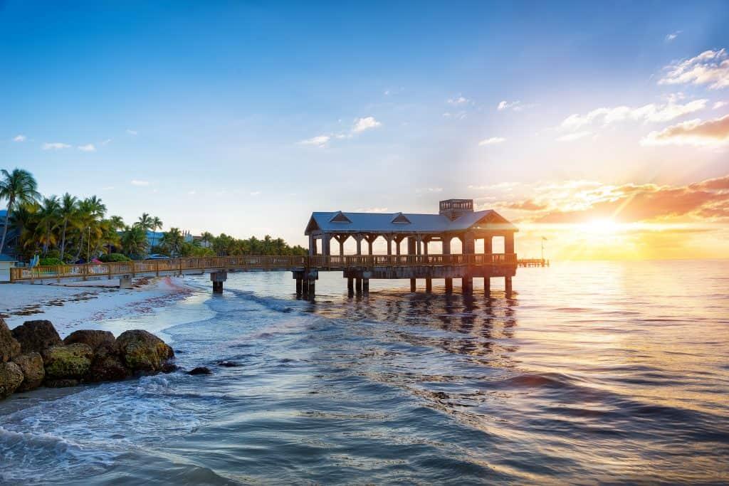 best airbnb in key west beach sunset