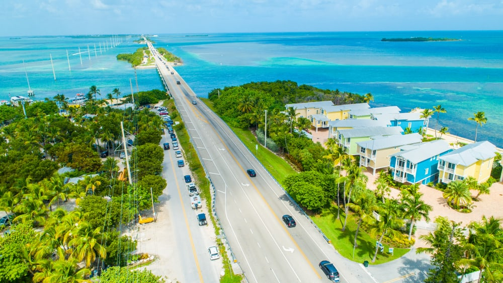 drive along Florida Keys