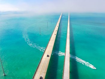 driving from miami to key west on 7 mile bridge