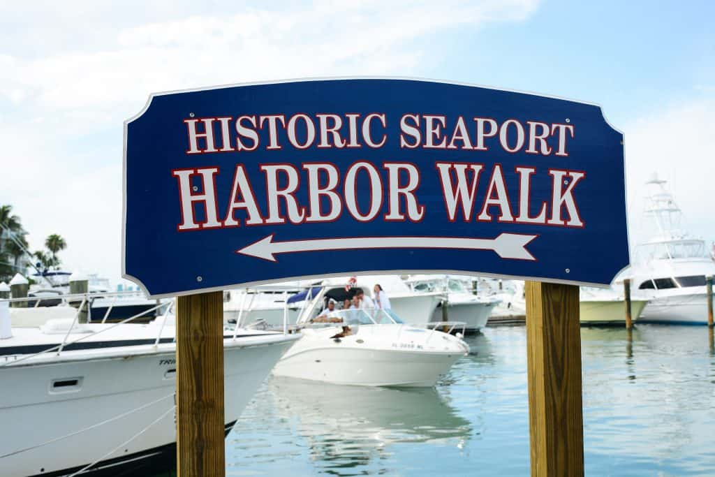 Fishing boats on Harbor Walk best things to do in key west