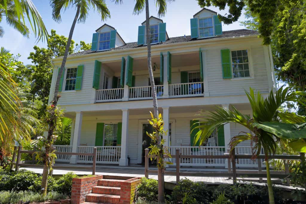 best things to do in key west Palm trees outside Audubon House