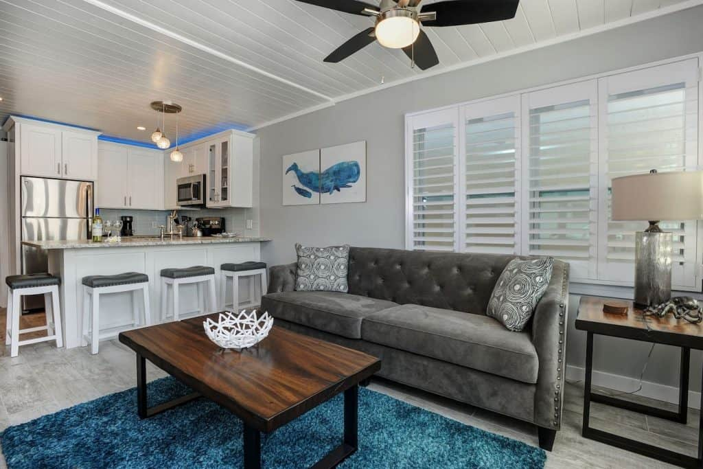 This is one of the cottages in Florida located in Clearwater beach. Paralia House is a Clearwater beach cottage perfect for relaxing!