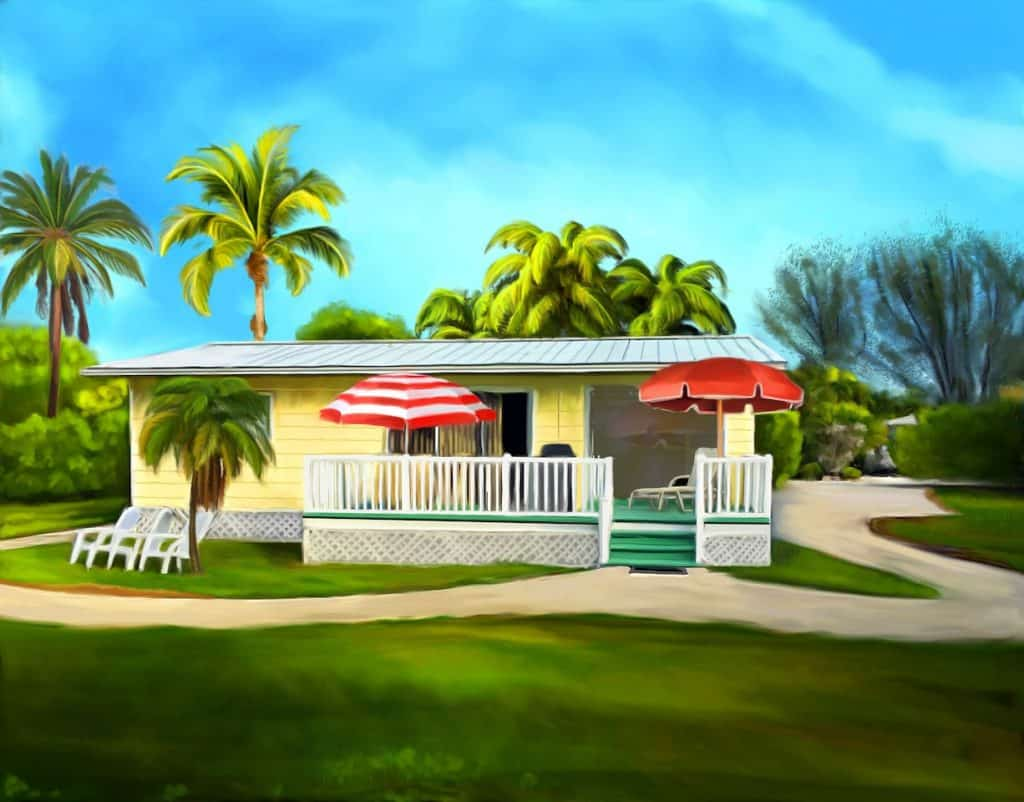 The sunny shell basket is a Sanibel Cottage located on Sanibel Island in Florida.
