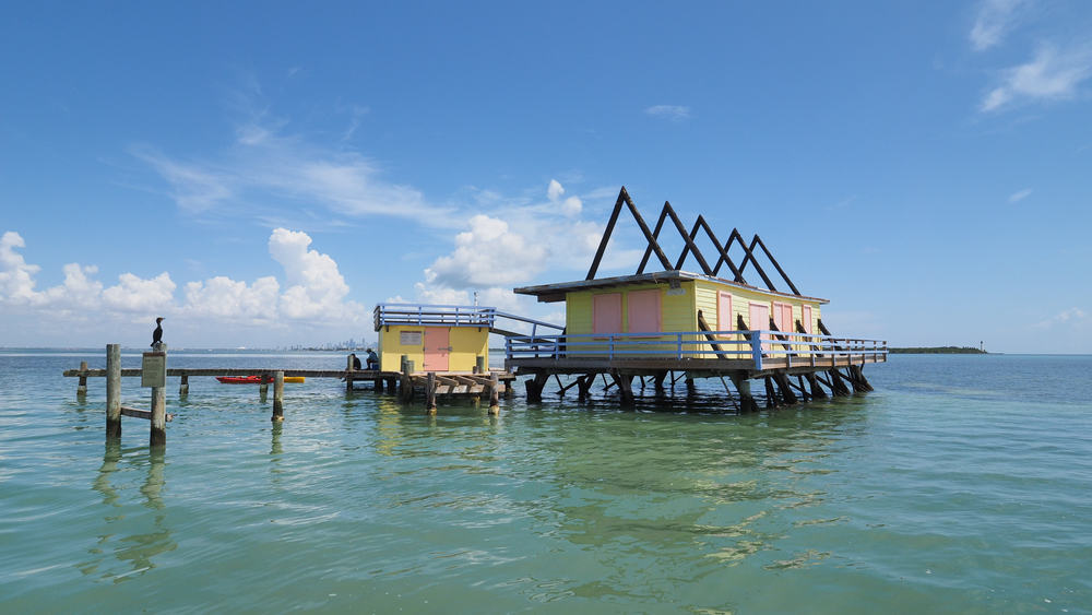 Stiltsville is located in Key Biscayne one of the best small beach towns in Florida.