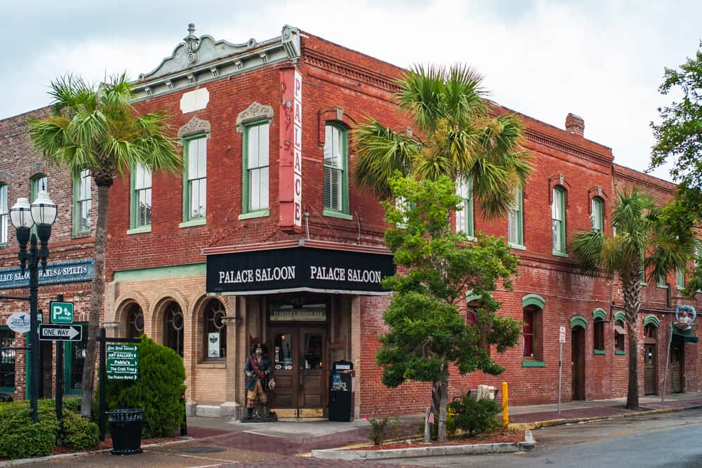 Fernandina one of the best small beach towns in Florida known for its historical downtown the Palace saloon is oldest bar