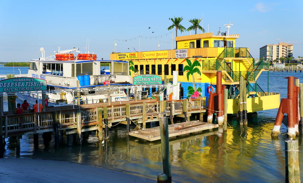 John's Pass Village is a destination in Maderia Beach, one of the best small beach towns in Florida.