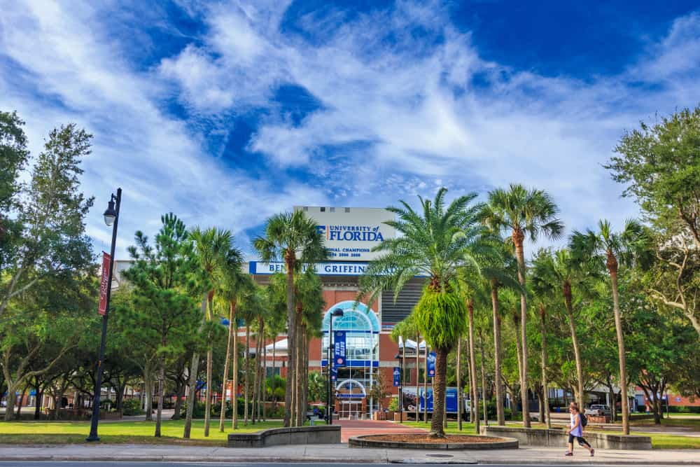 Ben Hill Giffin Stadium on the campus of University of Florida should be on your list of things to do in Gainesville.