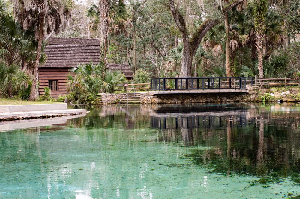 Juniper Spring shoudl be on your list of beautiful places to see in Ocala Florida