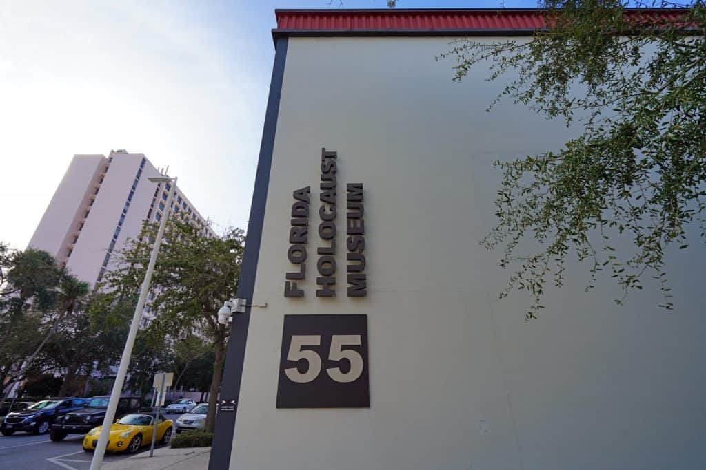 The Florida Holocaust Museum one of the most educational things to do in St. Petersburg Florida