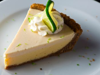 Photo of traditional Key Lime Pie