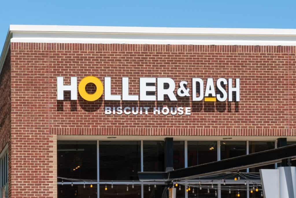 Exterior of Holler & Dash, one of the best breakfast restaurants in Orlando.