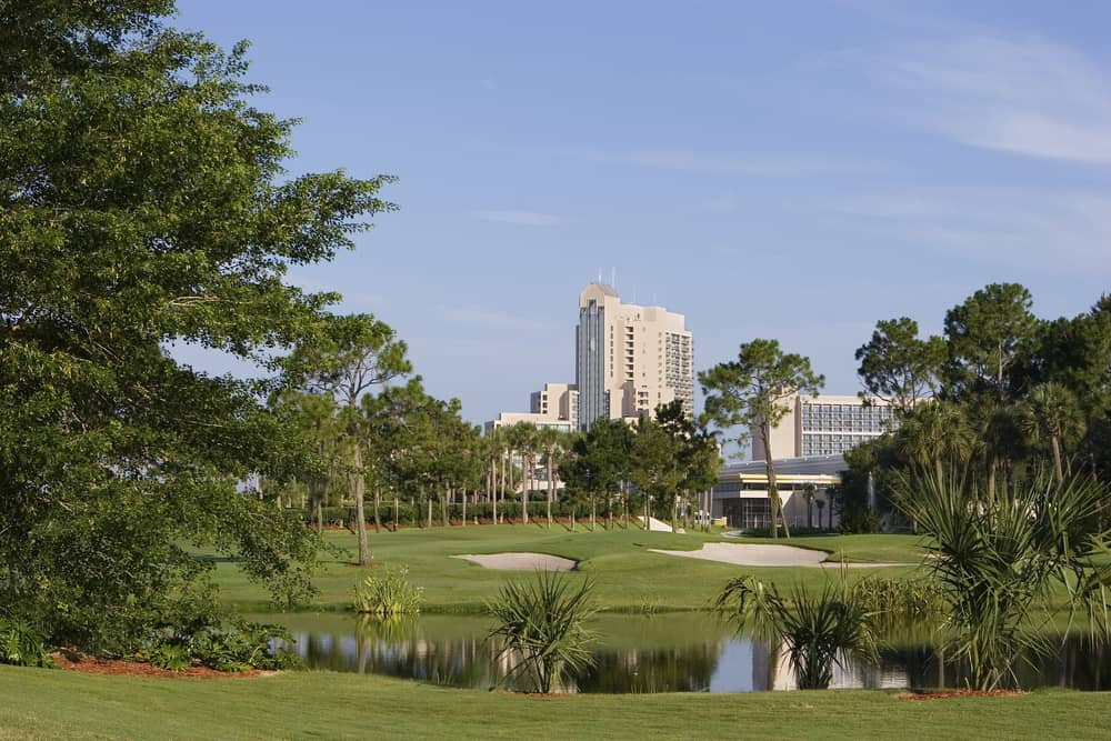 The Waldorf Astoria resort property is one of the best golf courses in Florida located in Orlando.
