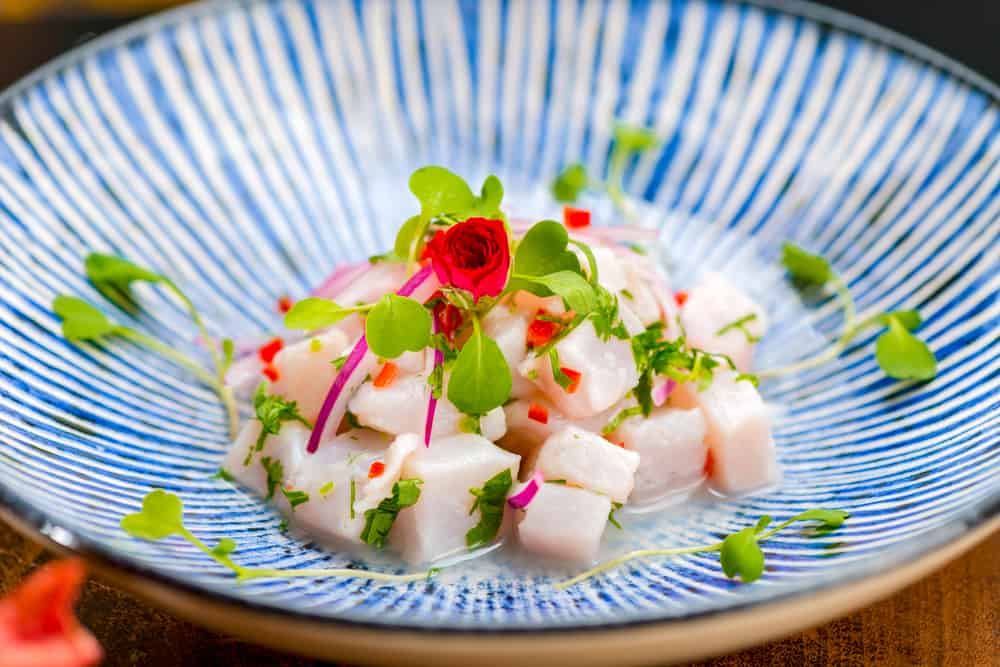 Try the ceviche at El gaucho Inca