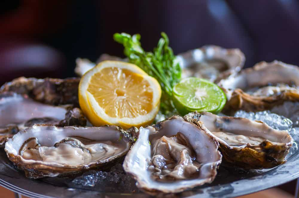 Try the oysters at Lighthouse restaurant one of the best happy hours in Fort Myers