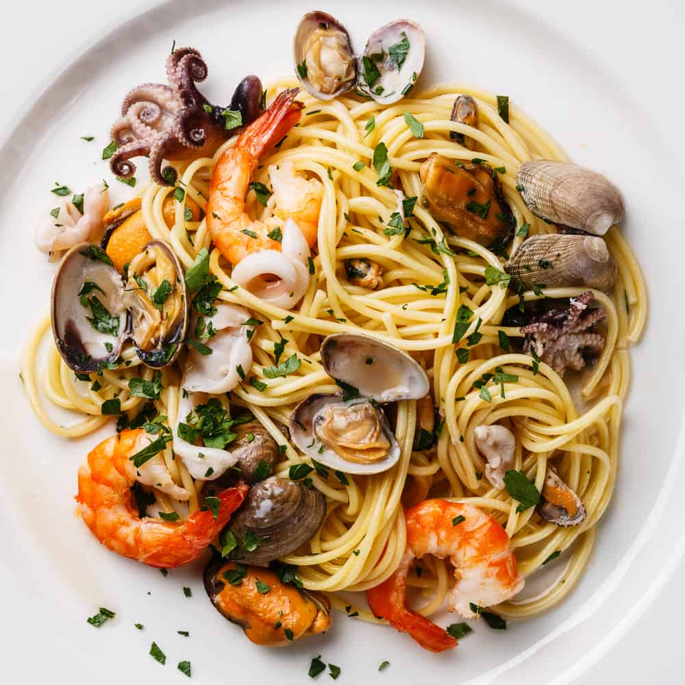 The seafood pasta at Cibo is one of the best places to eat in Fort Myers.
