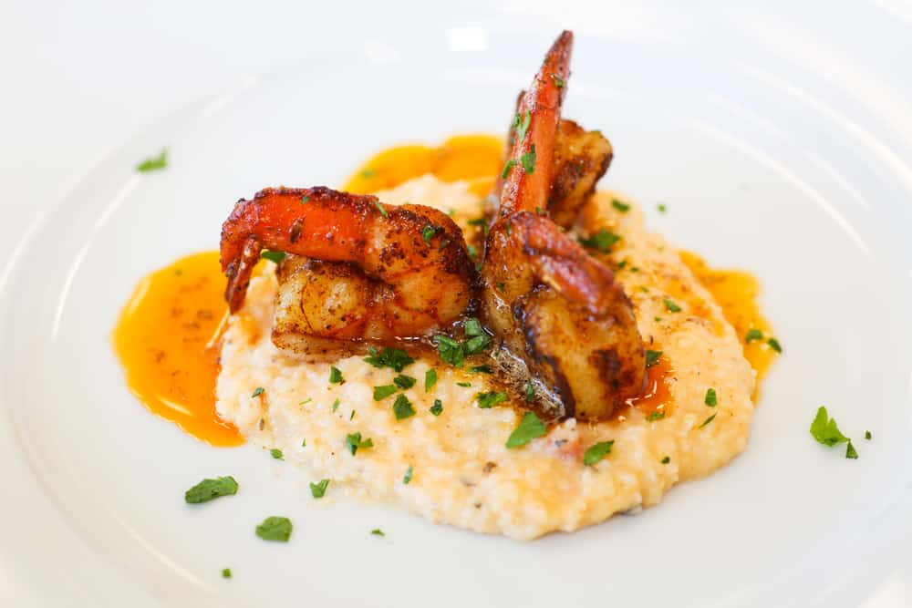 Try the shrimp and grits at one of the best restaurants in Fort Myers