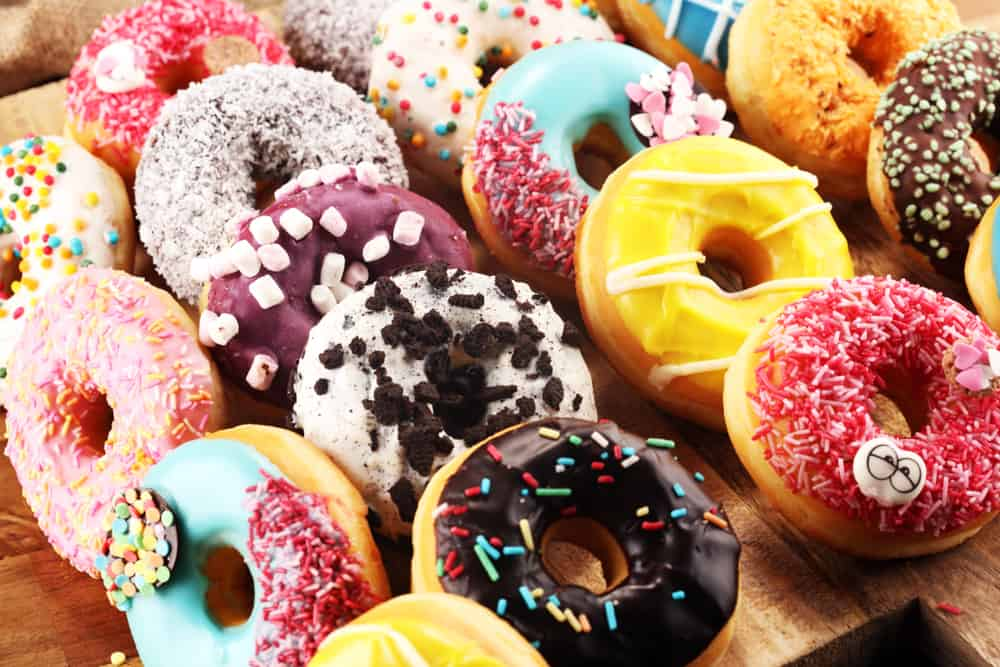Enjoy donuts at Halo Potato Donuts