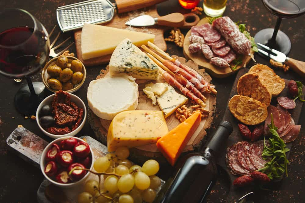 Everything from cheese to salami is homemade at Gypsie 13