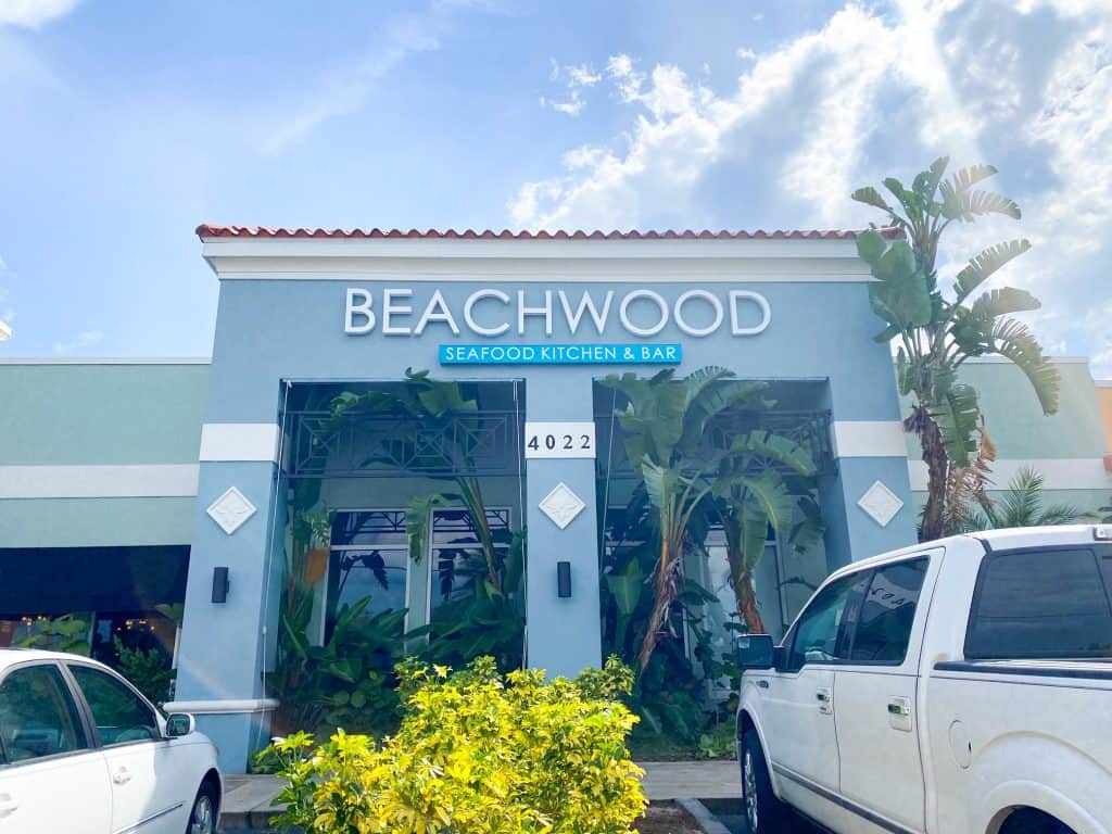 Beachwood seafood kitchen and bar is an upscale sophisticated seafood and sushi restaurant.