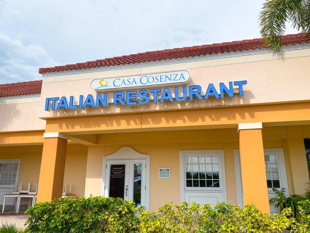 Casa Cosenza Italian Restaurant serves some of the best homemade Italian food in Oldsmar.