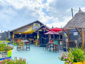 Jack Willies Tiki bar is one of the best outdoor restaurants in Oldsmar