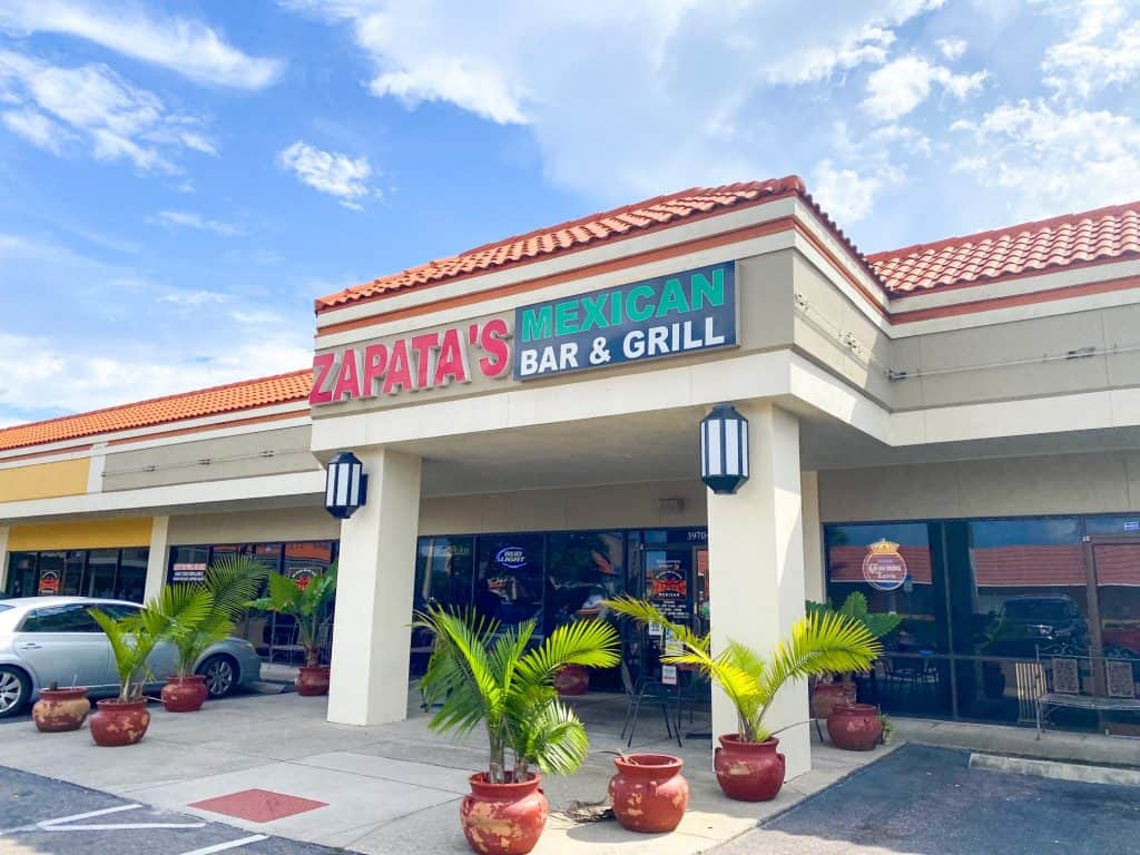 Zapata's is one of the restaurants in Oldsmar serving Mexican food.