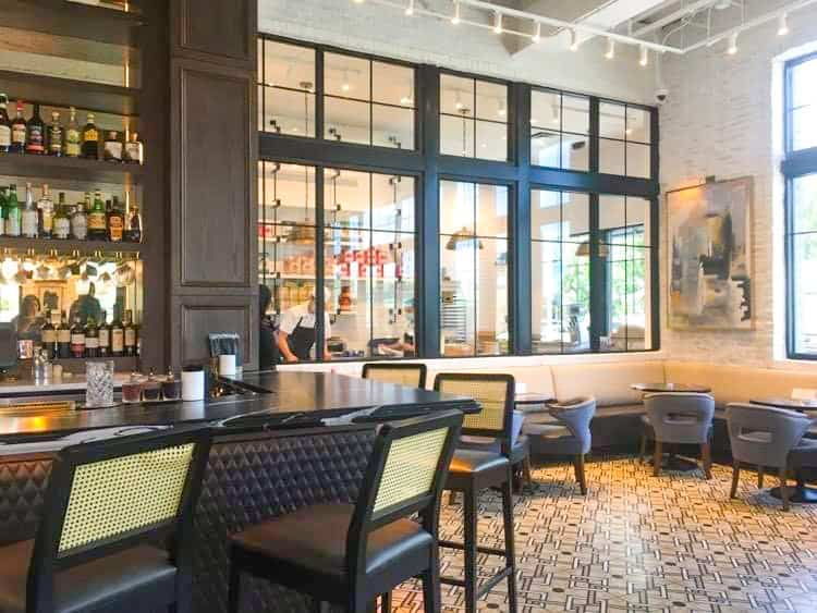 The Working Dough Room and Bar at Olivia, one of the best restaurants in Tampa.
