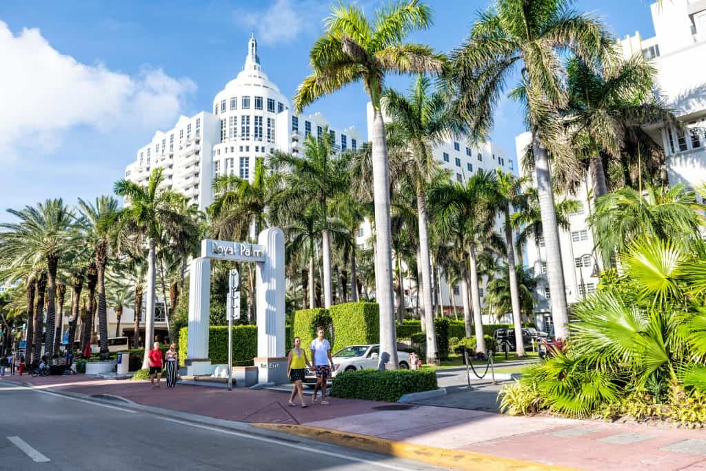 The Prival Wellness + Spa inside the Royal Palm in South Beach, the best spa in Miami.
