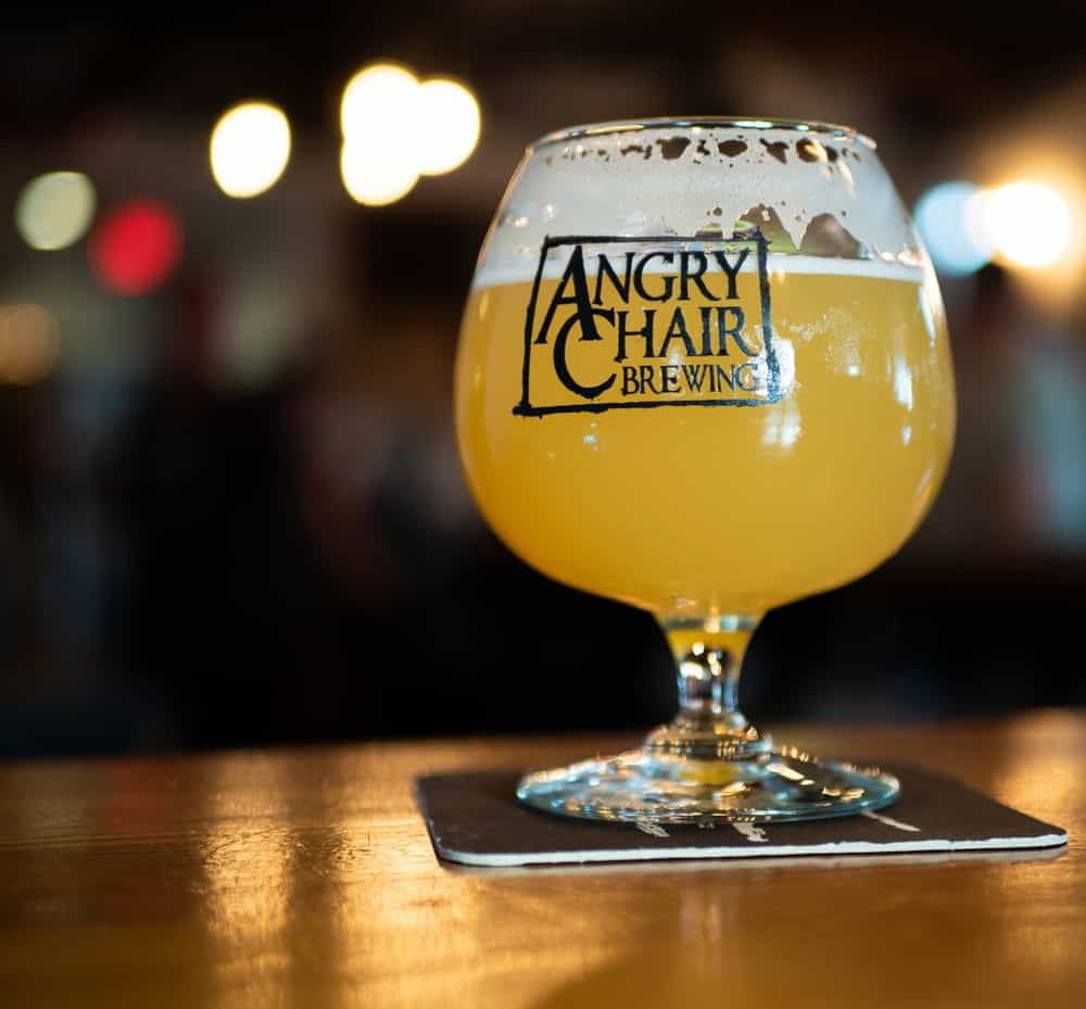 Come visit angry chair  in Tampa Florida for delicious beers