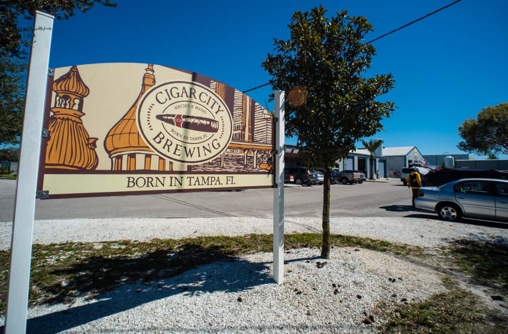 Cigar city is one of the most popular breweries in Tampa.