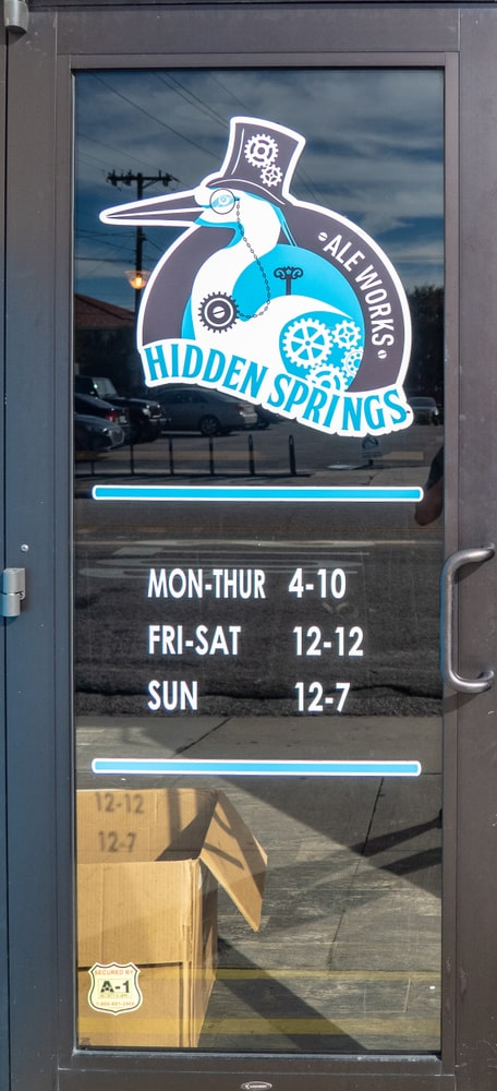 Stop by Hidden Springs brewery in Tampa Florida next to the oxford exchange.
