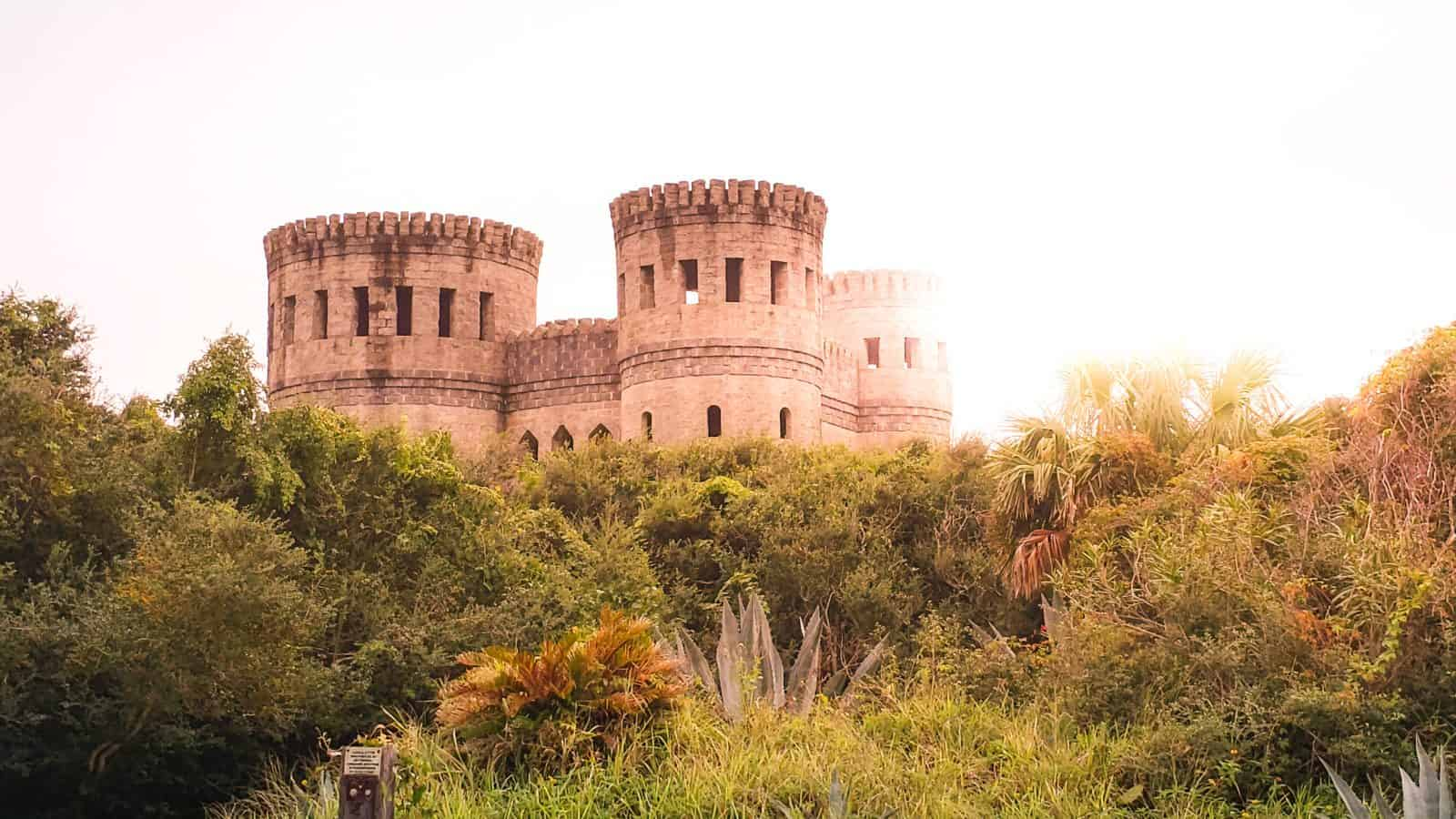 The Otttis Castle in St. Augustine, Florida.
