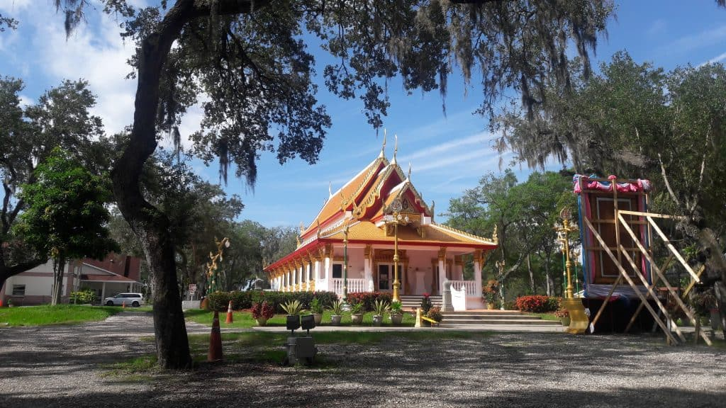 Thai Temple in downtown Tampa, one of the best things to do in Tampa for couples.