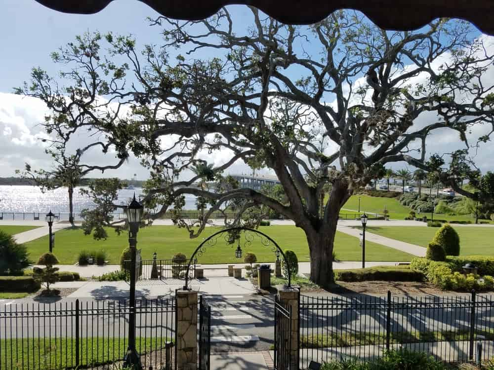 The tree of life at the John D. Rockefeller home called the casements a must on any history lovers list of things to do in Daytona Beach.