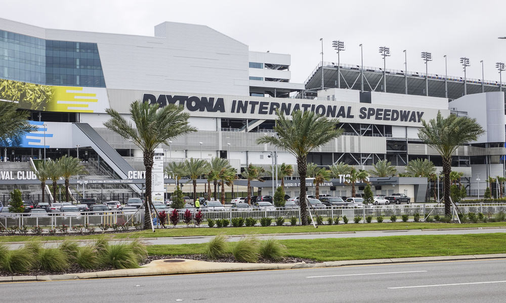 Daytona International Speedway is one of the most popular things to do in Daytona Beach, watch the Daytona 500 here.