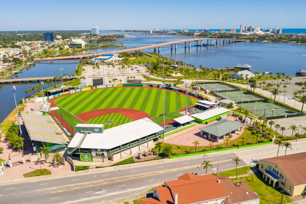 The Jackie Robinson Ballpark is one of the must-do things in Daytona Beach for any baseball lover.