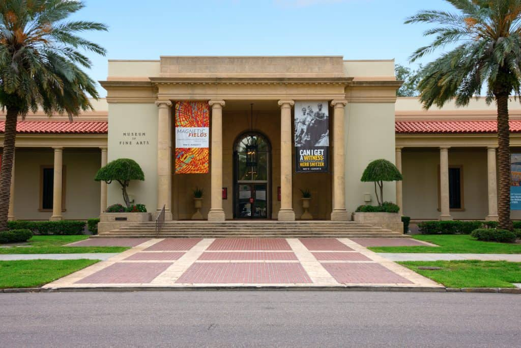 The Museum of Fine Art in St. Petersburg, Florida.