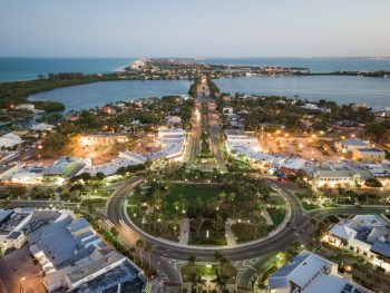 St. Armands circle has a ton of restaurants in Sarasota